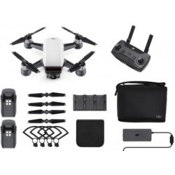 DJI Spark Fly More Combo, Alpine White - DJIS0200C